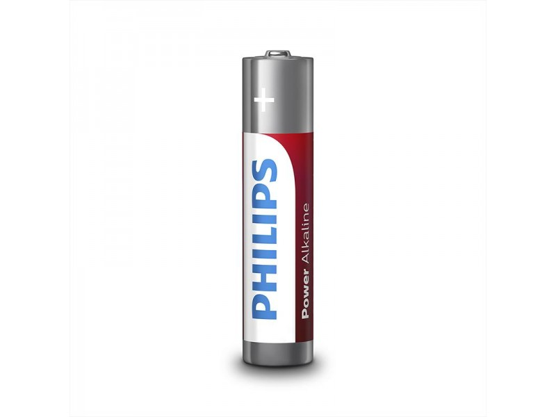 Philips Power Alkaline batterijen AA 12 stuks in multi verpakking
